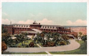 Hotel El Tovar, Grand Canyon National Park, Arizona, Early Postcard, Unused
