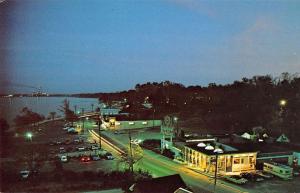 Yorktown Virginia Nicks Seafood Pavilion Birdseye View Vintage Postcard K28192