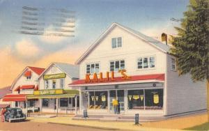 Inlet New York Kalils Gift Store Street View Antique Postcard K104728