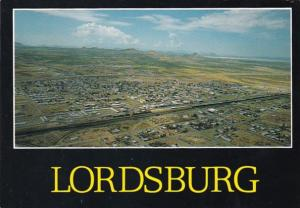 New Mexico Lordsburg Aerial View