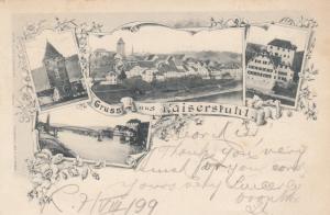 Gruss aus Kaiserstuhl , Switzerland , PU-1899