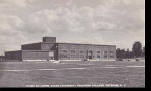 New York  Potsdam State University Teachers College Music  Building
