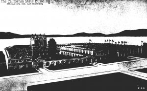 California San Francisco The California State Building Panama-Pacific Expo 1915