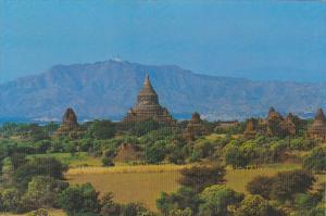 Myanmar Burma Mingalazedi Pagoda