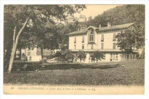 Villas Dans Le Parc Et Le Chateau, Uriage-Les-Bains, France, 1900-1910s