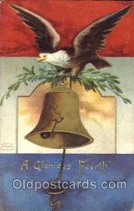 Forth of July 4th Postcard Post Card