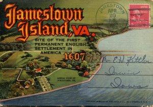 Folder - Jamestown Island, Virginia        18 views + narrative
