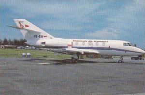 INDONESIA AIR TRANSPORT DASSAULT-BREGUET FALCON 20F