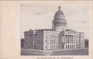 The State Capitol At Sacramento California