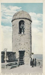 ST. AUGUSTINE, Florida, 1900-10s; Fort Marion, The Old Watch Tower