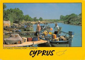 B96474 potamos fishing port liopetri cyprus