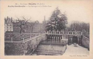 France Auchy-les-Hesdin La Fabrique et la Chute d'eau