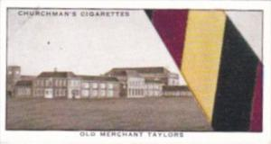 Church Vintage Cigarette Card Well Known Ties No 29 Old Merchant Taylors