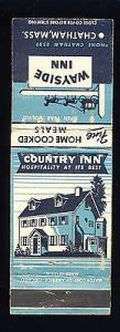 Chatham, Massachusetts/MA Matchcover/Matchbook, Wayside I...