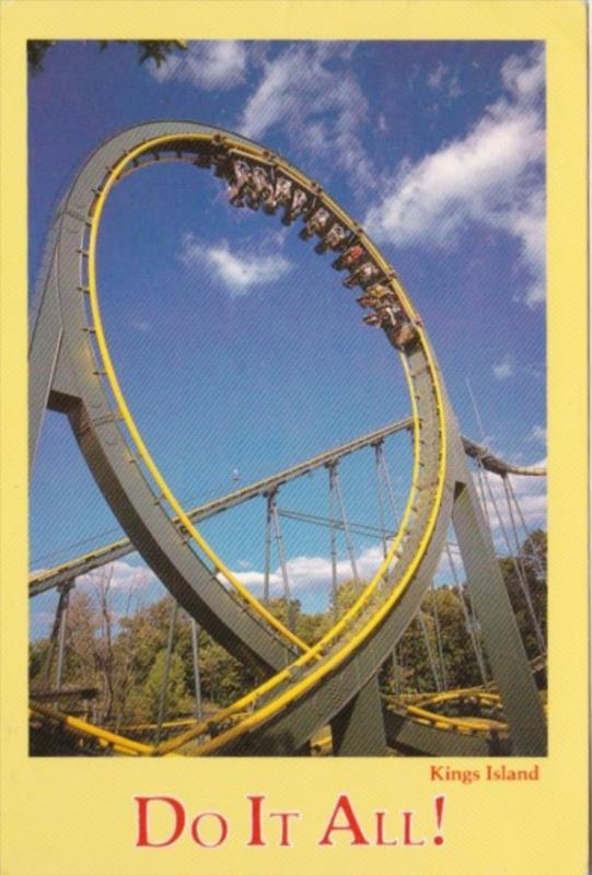 Ohio Kings Island King Cobra Roller Coaster Kings Island Amusement Park