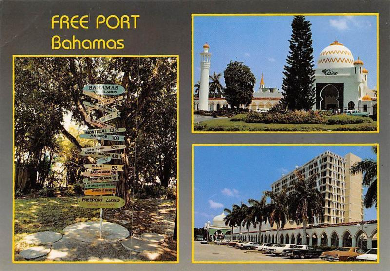 Freeport Bahamas Gambling Casino Princess Tower Vintage Cars