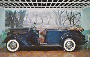 1936 Ford Phaeton Franklin D Roosevelt Library and Museum Hyde Park New York