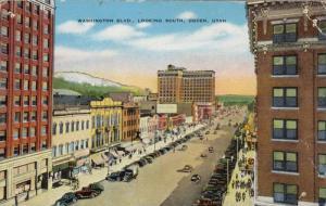 Washington Blvd., Looking South, Ogden, Utah, 1930-1940s
