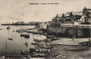brazil, MANAOS, Praia do Mercado (1920s)