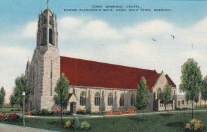 BOYS TOWN, Nebraska, 30-40s; Dowd Memorial Chapel, Father Flanagan's Boys' Home