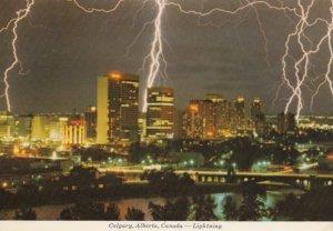 CALGARY , Alberta , Canada , 1950-70s ; Lightning