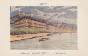 LYON, Rhone, France, 1900-1910's; Grand Nouvel Hotel