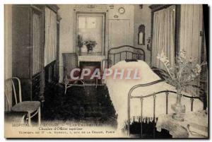 Old Postcard Hospital of & # 39Ecosse Les Charmilles Bed & # superior 39offic...