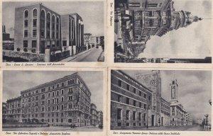Bari Italy Corso Sidney Sonnino Palazzo 4x Old Postcard s