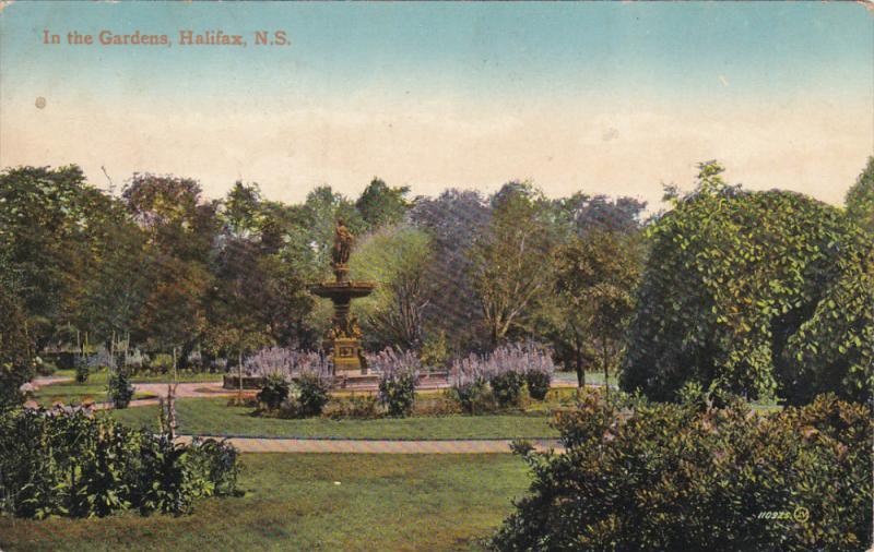 In the Gardens , HALIFAX , Nova Scotia , PU-1916