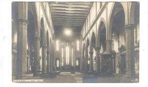 RP; FIRENZE, Interior, S. Croce, Toscana, Italy, 10-20s