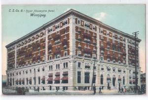 C.S.Co.8 Royal Alexandria Hotel, Winnipeg, Man