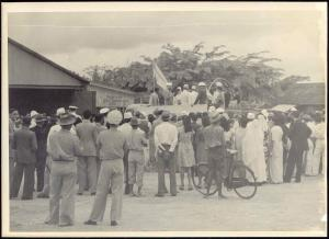 Unknown Indian Speecher at Trinidad Light Aeroplane Club, British Military (?)
