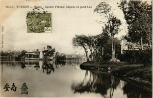 CPA AK INDOCHINA Tonkin Square Francis Garnier VIETNAM (956938)