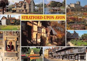 England Stratford-upon-Avon Shakespeare's Birthplace multiviews