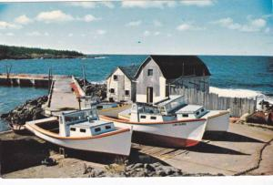 Whale Cove,  A Village of Lobster Fishermen,  Nova Scotia,   Canada,  40-60s