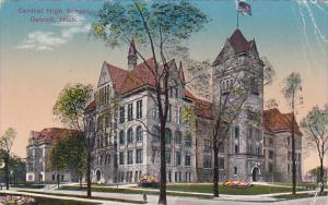Central High School , DETROIT , Michigan , PU-1911