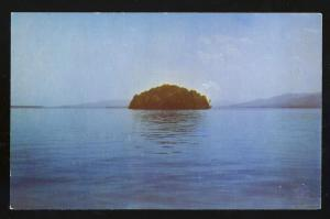 Lake George, New York/NY Postcard, Dome Island