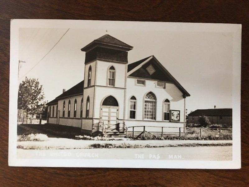 RPPC United Church, 1 Saskatchewan Cresent, The Pas, Manitoba, Canada Z3