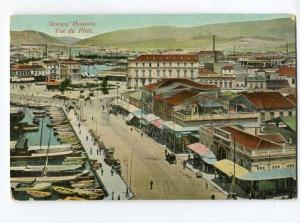 251504 GREECE PIREE view Vintage postcard
