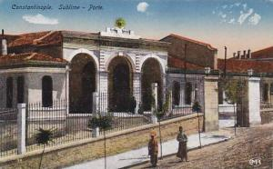 Sublime, Porte, Constantinople, Turkey, 1900-1910s
