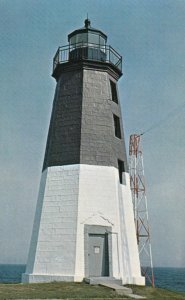 NARRAGANSETT, Rhode Island, 1940-60s; Point Judith Lighthouse