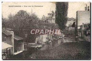 Montargis Old Postcard View Puiseaux