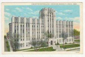 Administration Building, Creighton University, Omaha, Nebraska, PU-1934