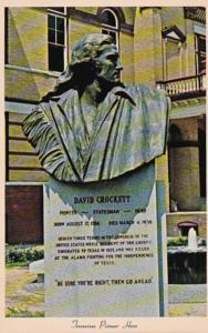 Tennessee Trenton Monument To David Crockett
