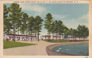 Samyra Lake Motor Court, On US No. 1, Six Miles North Of Raleigh, South Carol...
