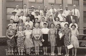 RP: Thornton & Minor Dismissal Class , 1947