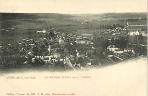 CPA Vallée de Chevreuse-Vue générale de Chevreuse et Environs (260540)