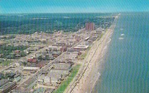 Virginia Virginia Beach An Aerial View Of The Famous Virginia Beach Coastline