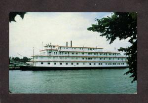 Riverboat New Orleans American Cruise Lines MS Mississippi River Postcard Ship