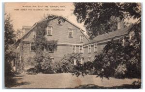 Early 1900s Wayside Inn, Longfellow's Residence, Sudbury, MA Postcard